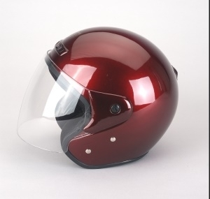 Motorradhelm SCOOTER rot
